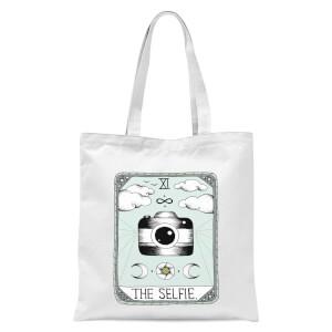 The Selfie Tote Bag - White