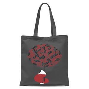 Cherry Tree Tote Bag - Grey