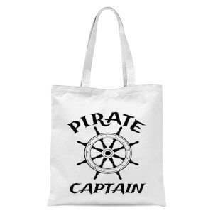 Pirate Captain Tote Bag - White