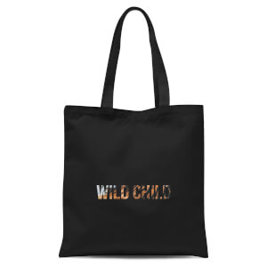 Wild Child Tote Bag - Black