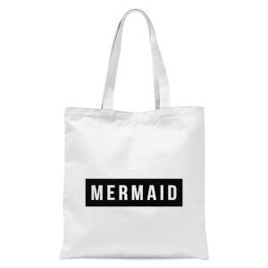 Mermaid Tote Bag - White