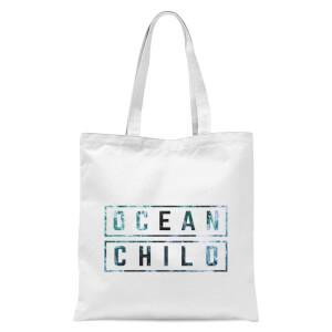 Ocean Child Tote Bag - White