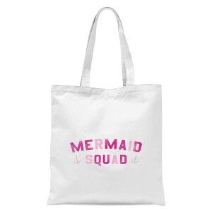 Mermaid Squad Tote Bag - White