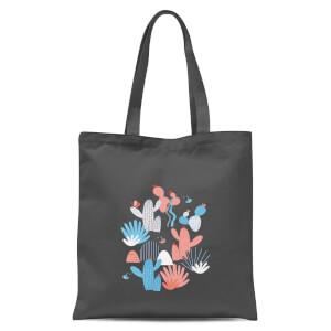 Cactus Tote Bag - Grey