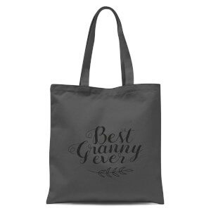 Best Granny Ever Tote Bag - Grey