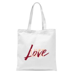 Love & Lust Tote Bag - White
