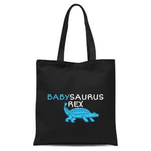 Babysaurus Rex Tote Bag - Black