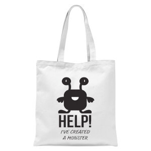 HELP Ive Created A Monster Tote Bag - White