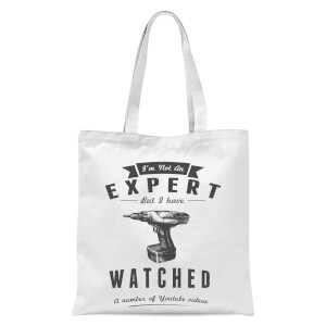 Im Not An Expert Tote Bag - White