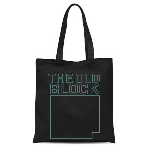 The Old Block Tote Bag - Black