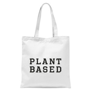 Plant Based Tote Bag - White