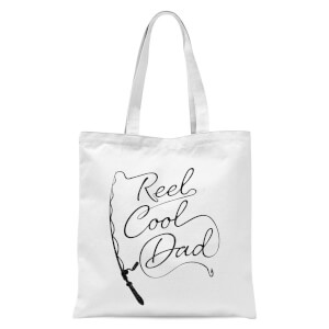 Reel Cool Dad Tote Bag - White
