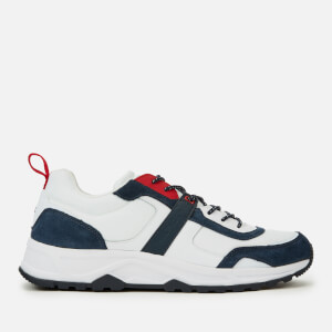 Tommy Hilfiger Men's Fashion Mix Chunky Trainers - White