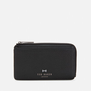 Ted Baker Women's Lotta Bow Detail Credit Card Holder - Black