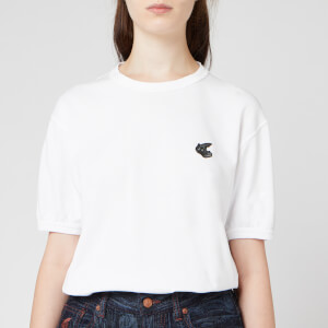 Vivienne Westwood Anglomania Women's New Classic T-Shirt Badge - White