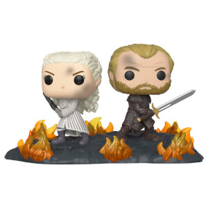 Figurine Pop! Movie Moment Daenerys & Jorah Avec Epées - Game Of Thrones