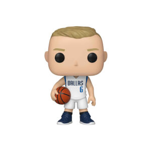 NBA Dallas Mavericks Kristaps Porzingis Funko Pop! Vinyl
