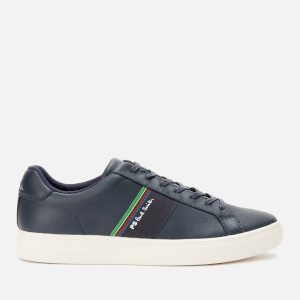 PS Paul Smith Men's Rex Leather Low Top Trainers - Dark Navy