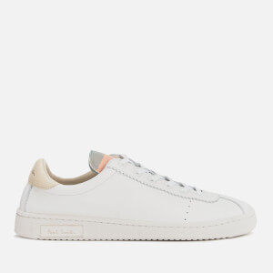 PS Paul Smith Women's Dusty Leather Trainers - White