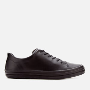 Camper Women's Hoops Leather Low Top Trainers - Black