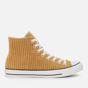 Converse Men's Chuck Taylor All Star Wide Wale Cord Hi-Top Trainers - Wheat/White/Black