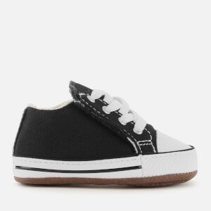 Converse Babies Chuck Taylor All Star Cribster Canvas Mid Trainers - Black/Natural Ivory/White