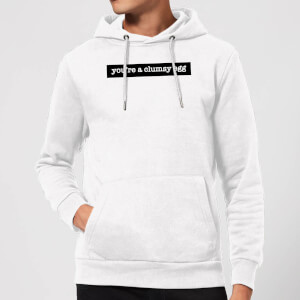 You're A Clumsy Egg Hoodie - White