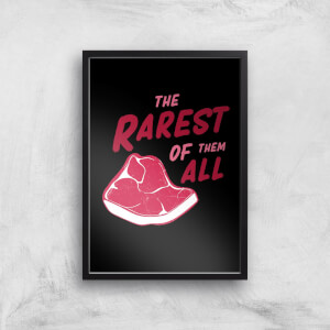 The Rarest Of Them All Art Print
