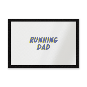 Running Dad Entrance Mat