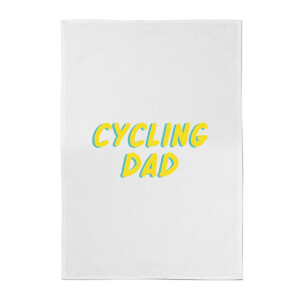 Cycling Dad Cotton Tea Towel