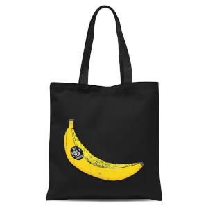 My Dad Is A Top Banana Tote Bag - Black
