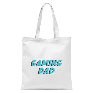 Gaming Dad Tote Bag - White