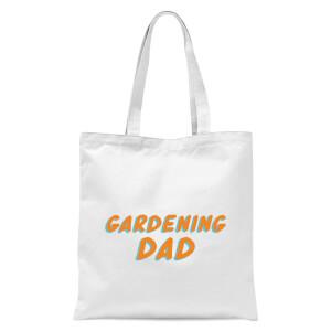Gardening Dad Tote Bag - White
