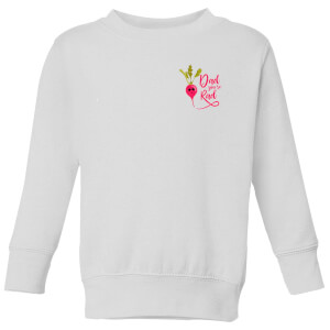 Dad You're Rad Kids' Sweatshirt - White