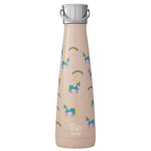 S'ip by S'well Unicorn Chasing Rainbows Adventure Cap Water Bottle - 450ml