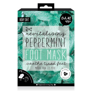 Oh K! Peppermint Revitalising Foot Mask 16ml