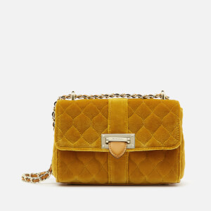 Aspinal of London Women's Lottie Bag Micro Bag - Mustard