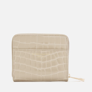 Aspinal of London Women's Mini Continental Purse - Soft Taupe