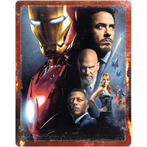 Iron Man - 4K Ultra HD (includes 2D Blu-ray) Zavvi UK Exclusive Steelbook