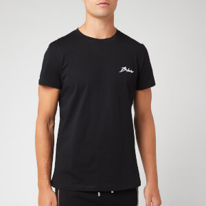 Balmain Men's Small Signature T-Shirt - Noir