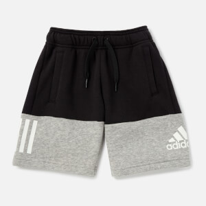 adidas Boys' Young Boys Sid Shorts - Black/Grey
