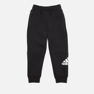 adidas Boys' Young Boys Knitted Pants - Black