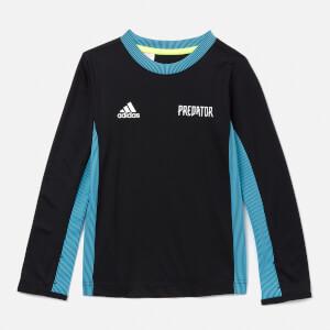 adidas Boys' Young Boys Predator LS Jersey - Black