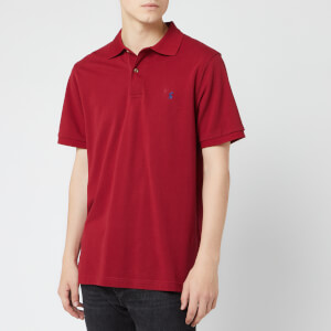 Joules Men's Woody Polo Shirt - Deep Red