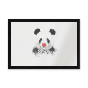 Red Nosed Panda Entrance Mat