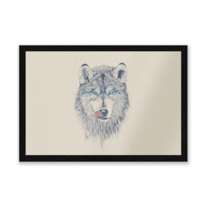 Wolf Eyes Entrance Mat