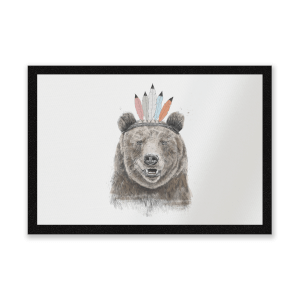 Native Bear Entrance Mat