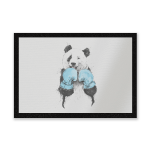 Boxing Panda Entrance Mat