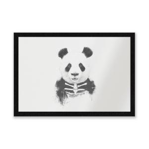 Skull Panda Entrance Mat