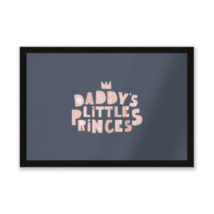 Daddy's Little Princes Entrance Mat